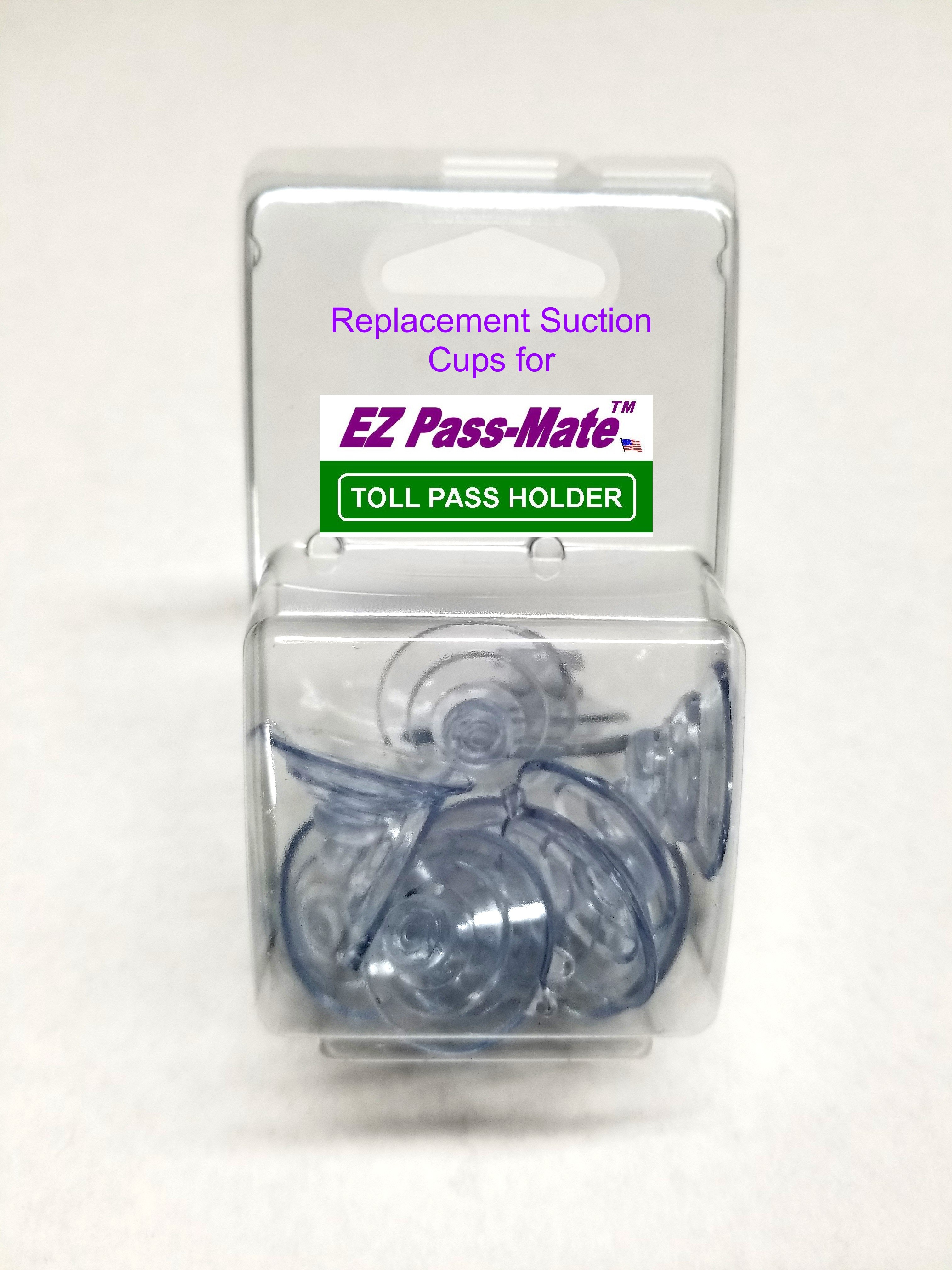"12 Replacement Suction Cup Small 1.125""- Fits JL Safety EZ Pass-Mate & EZ Flex-Port holders"