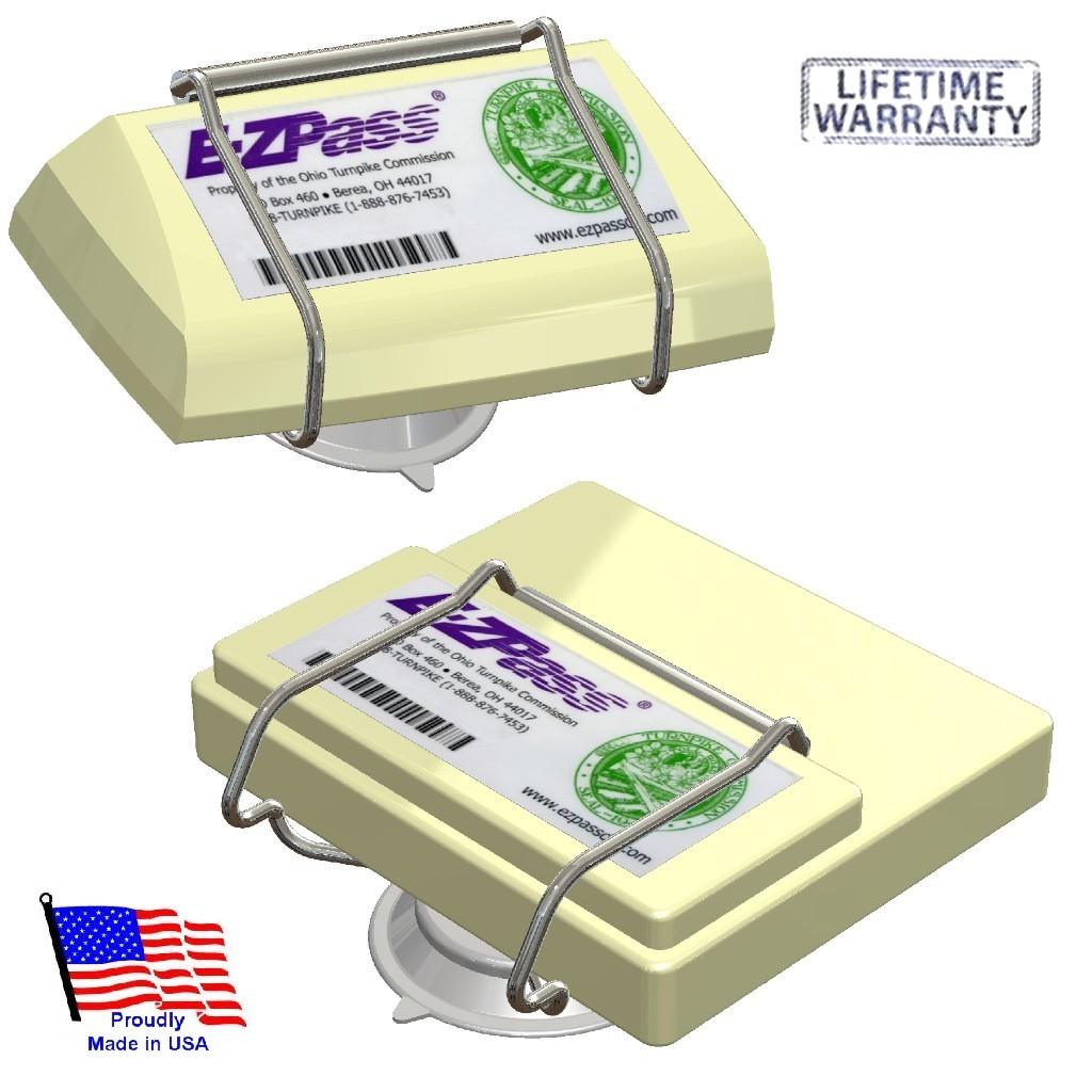 EZ Pass-Port™   Unbreakable Toll Pass Holder for NEW and OLD E-Z Pass, I Pass, PalPass, Fastrak, NC Quick Pass & more   (Closed this week. Orders will ship on 12/10/18)