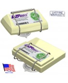 EZ Pass-Port™   Unbreakable Toll Pass Holder for NEW and OLD E-Z Pass, I Pass, PalPass, Fastrak, NC Quick Pass & more