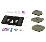 EZ Pass-Mate™ Black Toll Pass Holder for ALL EZPass models including HOV switch