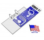 VisorTag® Horizontal   Handicapped Parking Placard Holder & Protector